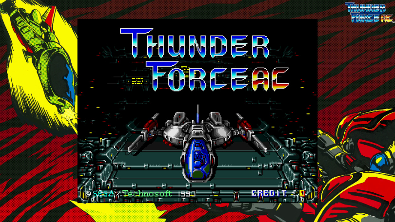 SEGA AGES Thunder Force AC is released May 28