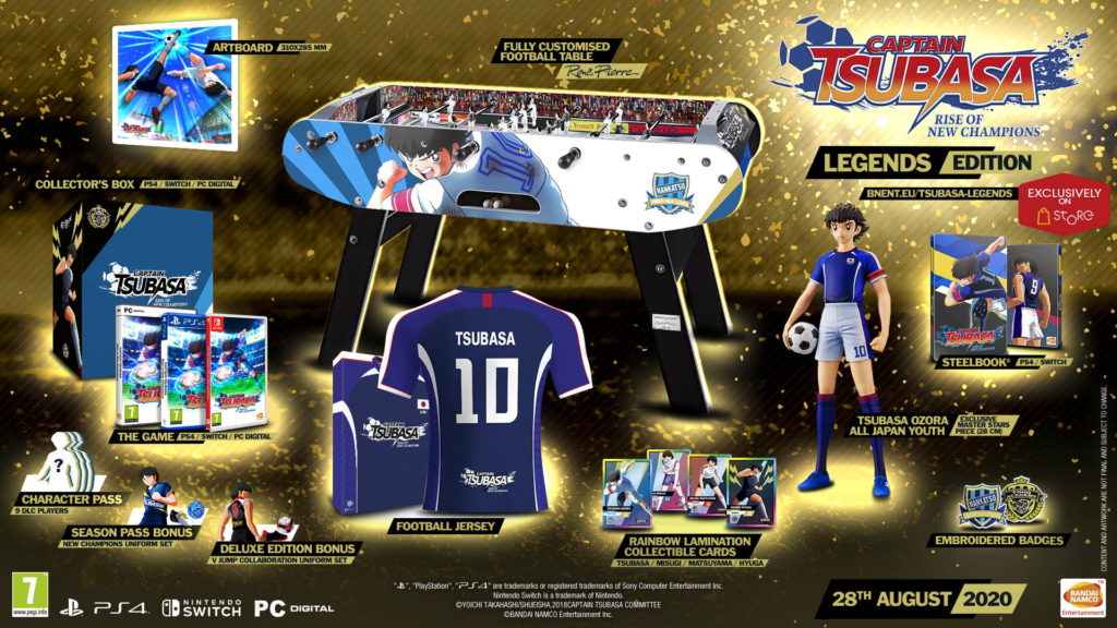 Kick off August 28 – Captain Tsubasa: Rise of New Champions gets release date