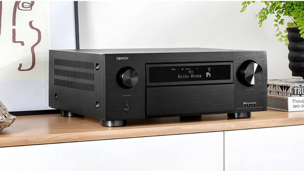 Denon releases the first home theater receivers with 8k support