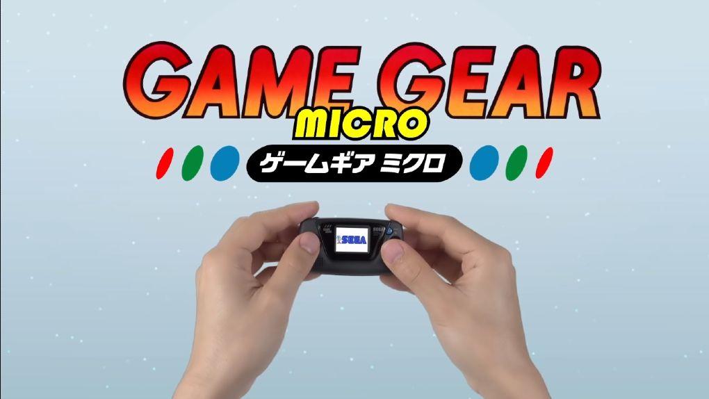 Game Gear Micro – Sega carpenters on a puddle console