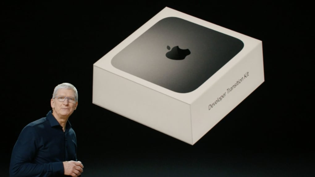 The first arm Mac is already here – so fast it is