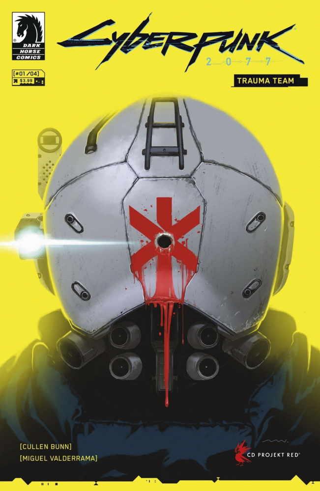Cyberpunk 2077 receives a serial on the Trauma Team rescue service