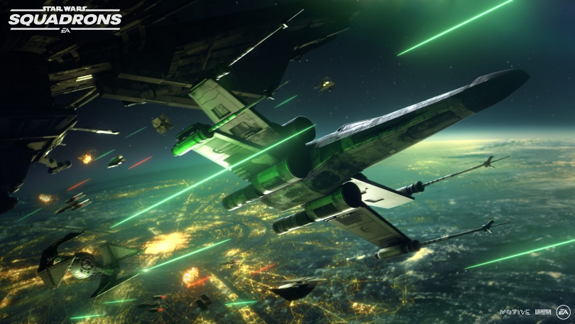 EA flies again with Star Wars: Squadrons