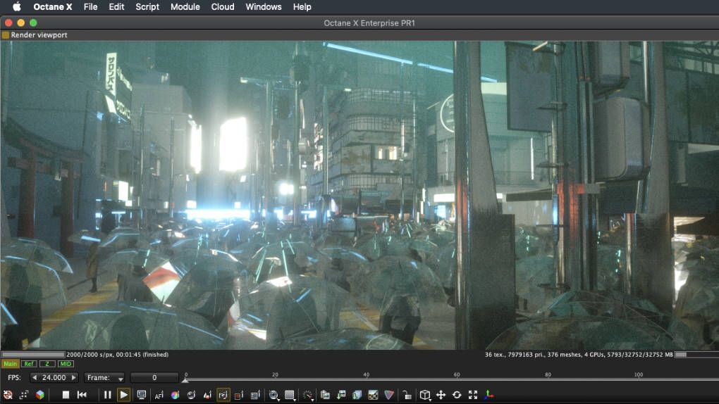 Otoy releases pre-release version of Octane X – new professional renderer for Mac