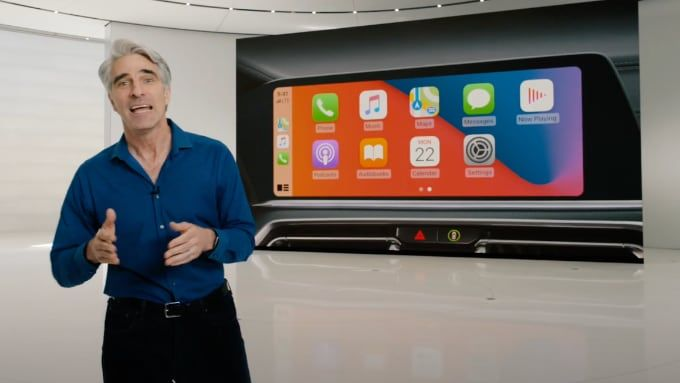 Here is the news in Carplay with IOS 14