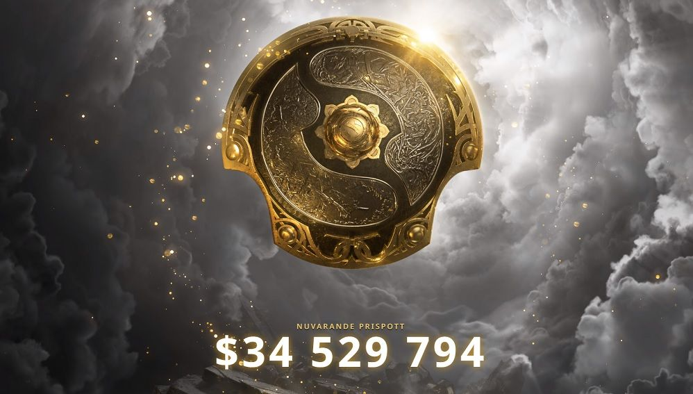 The highest prize pool ever in e-sports