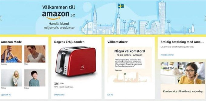 Then Amazon comes to Sweden – everything you need to know