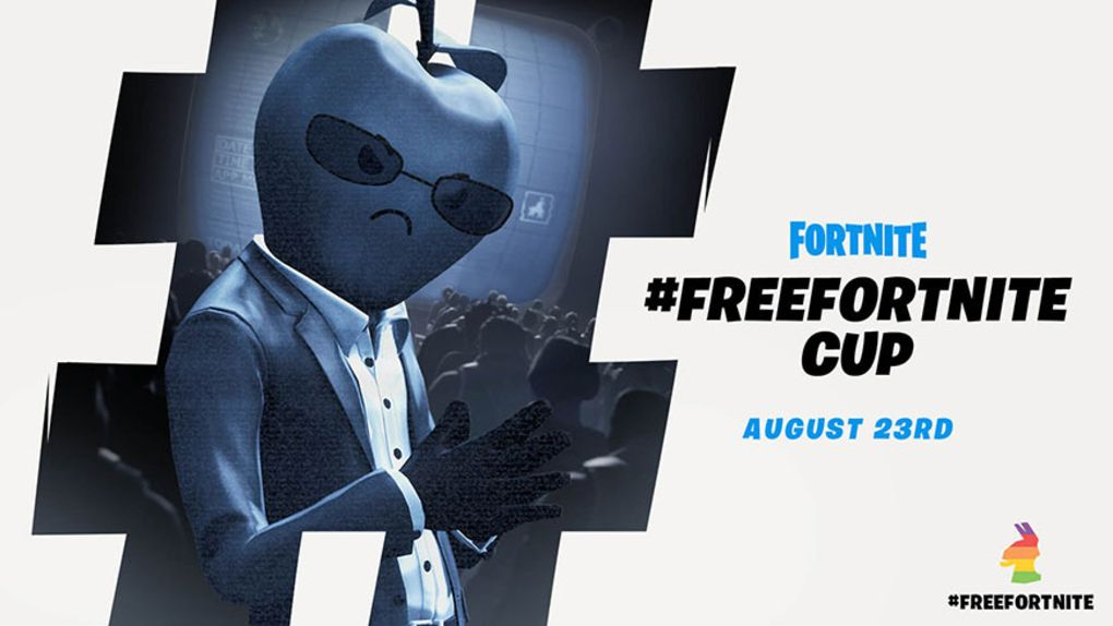 """Epic launches """"Free Fortnite"""" tournament in the middle of the App Store brawl"""