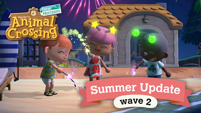 Summer continues in Animal Crossing!