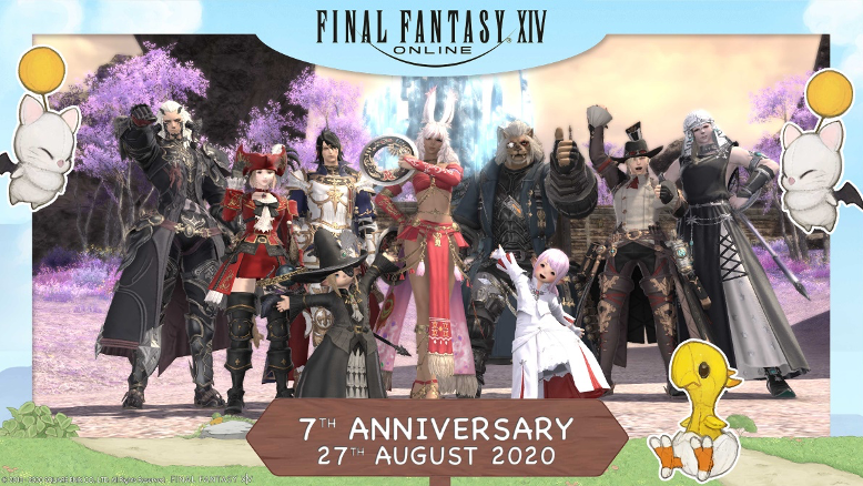 Final Fantasy XIV turns 7 years old!