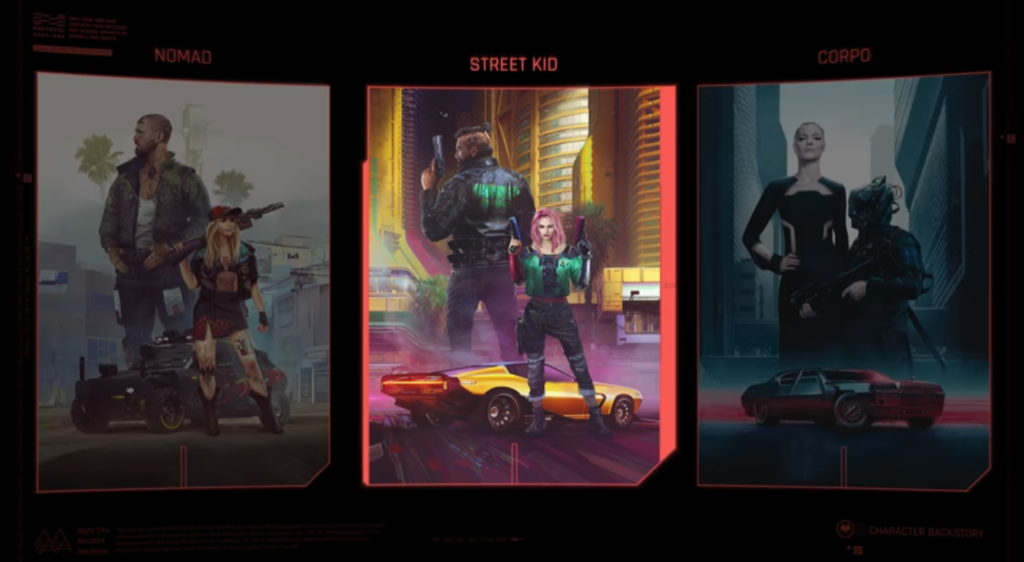 Which life do you choose? New Cyberpunk 2077 trailer shows life stories