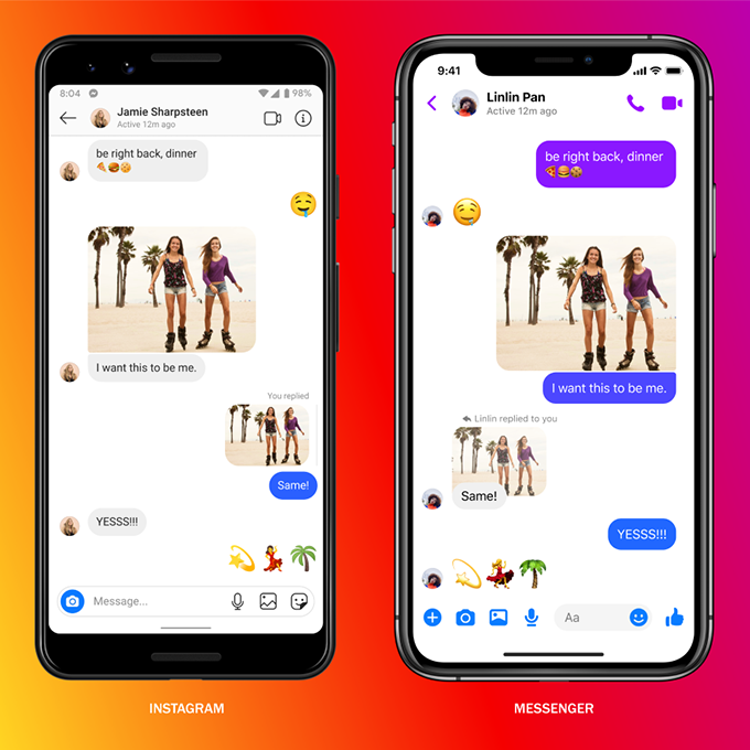 Then Instagram messages will become more like Messenger