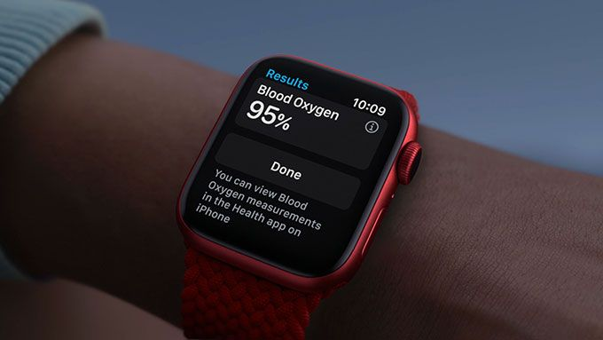 Here is the Apple Watch Series 6 – gets pulse oximeter