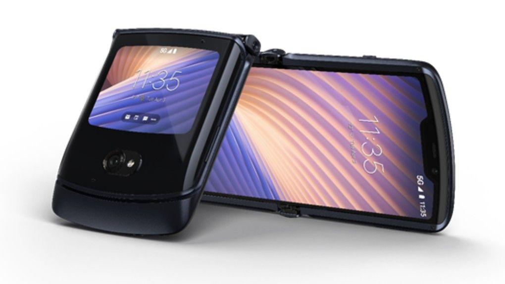 Here is the new Motorola Razr 5G