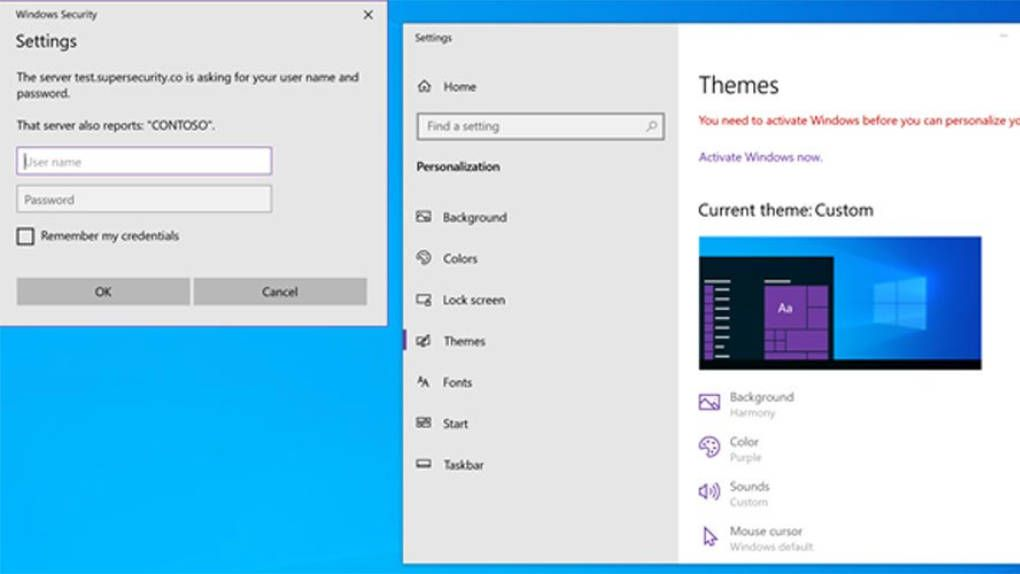Security researcher: Windows 10 themes can be used to steal passwords