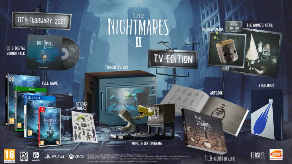 A nightmare to collect? See Little Nightmares II collector's edition