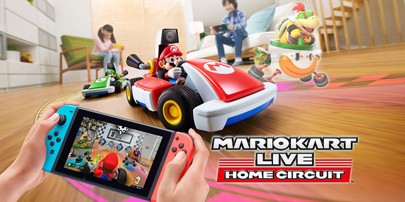 This is Mario Kart Live: Home Circuit