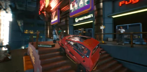 Burn rubber with hot cars in Cyberpunk 2077, or only in a small Makigai
