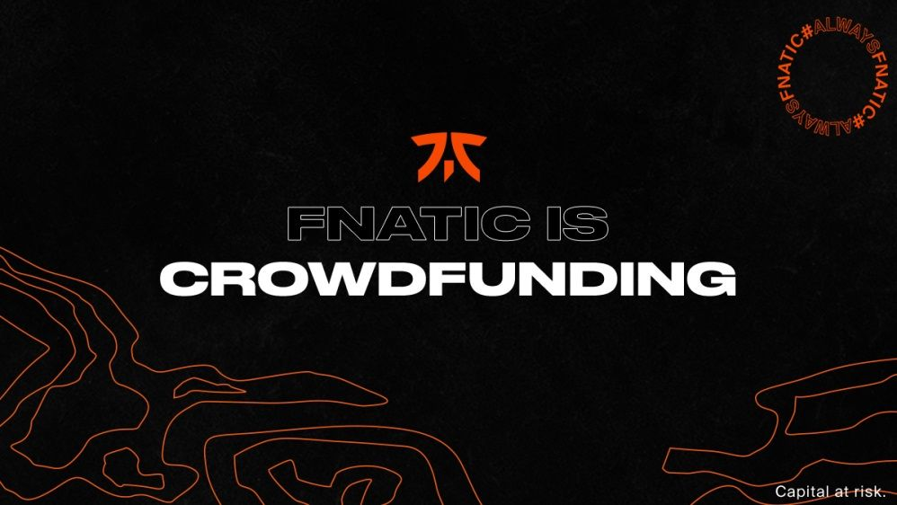 Fnatic raises $ 10 million – and opens up for fans to invest