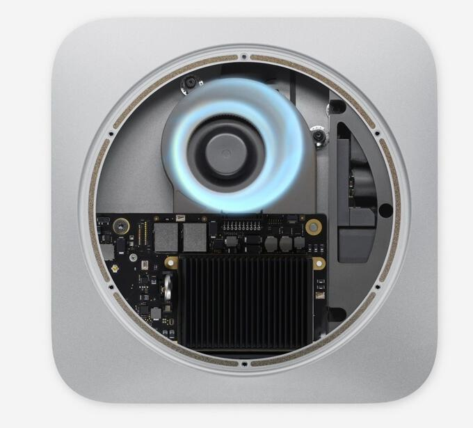 Mac Mini is also equipped with Apple's M1 chip