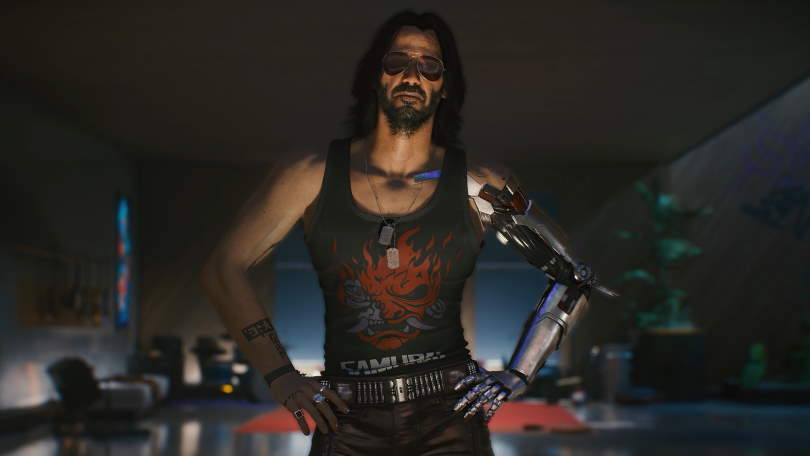 Charming and talented – Keanu Reeves is Johnny Silverhand