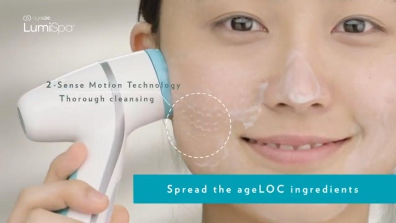 LumiSpa ageLOC a complete skin care routine