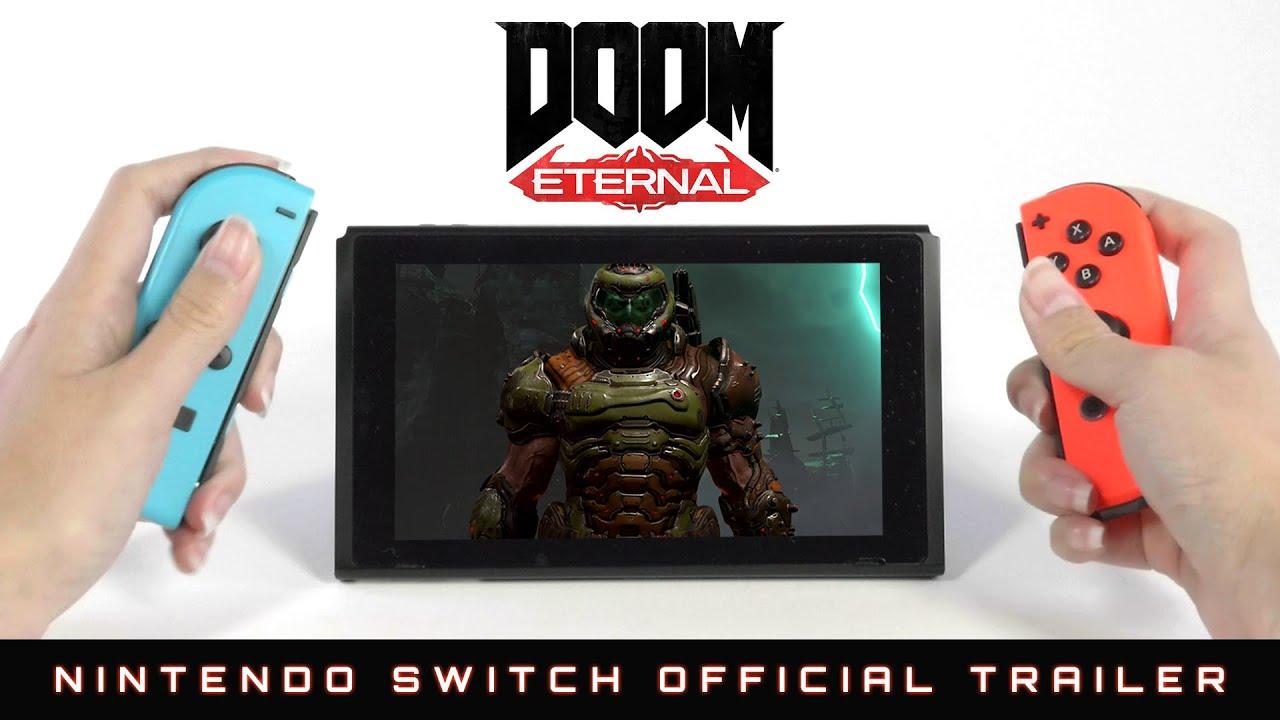 DOOM Eternal on Switch has been released