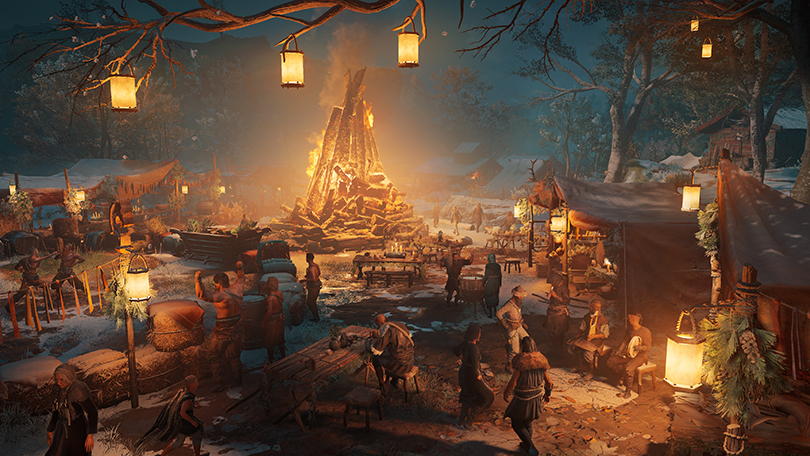 Now it's yule again in Assassin's Creed Valhalla