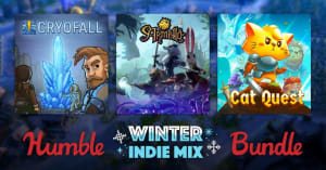 The new Humble Bundle raises money for cancer research