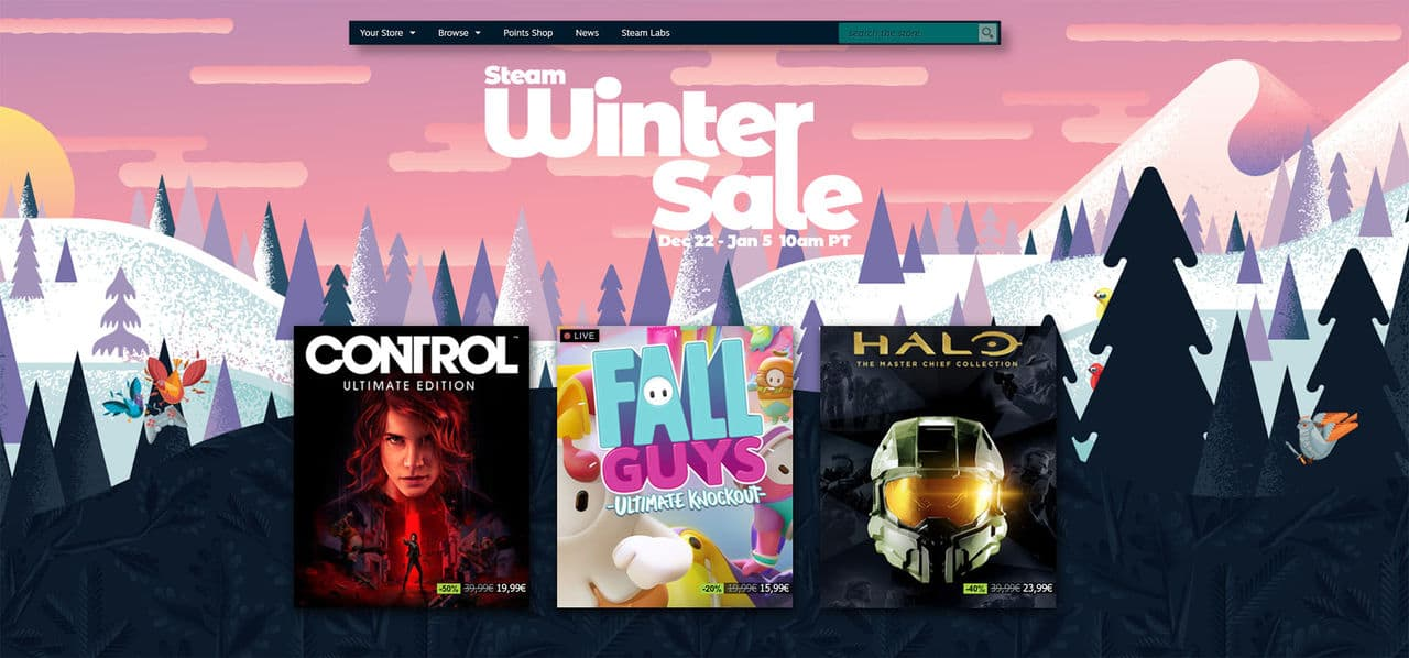 Steam has started its winter sale