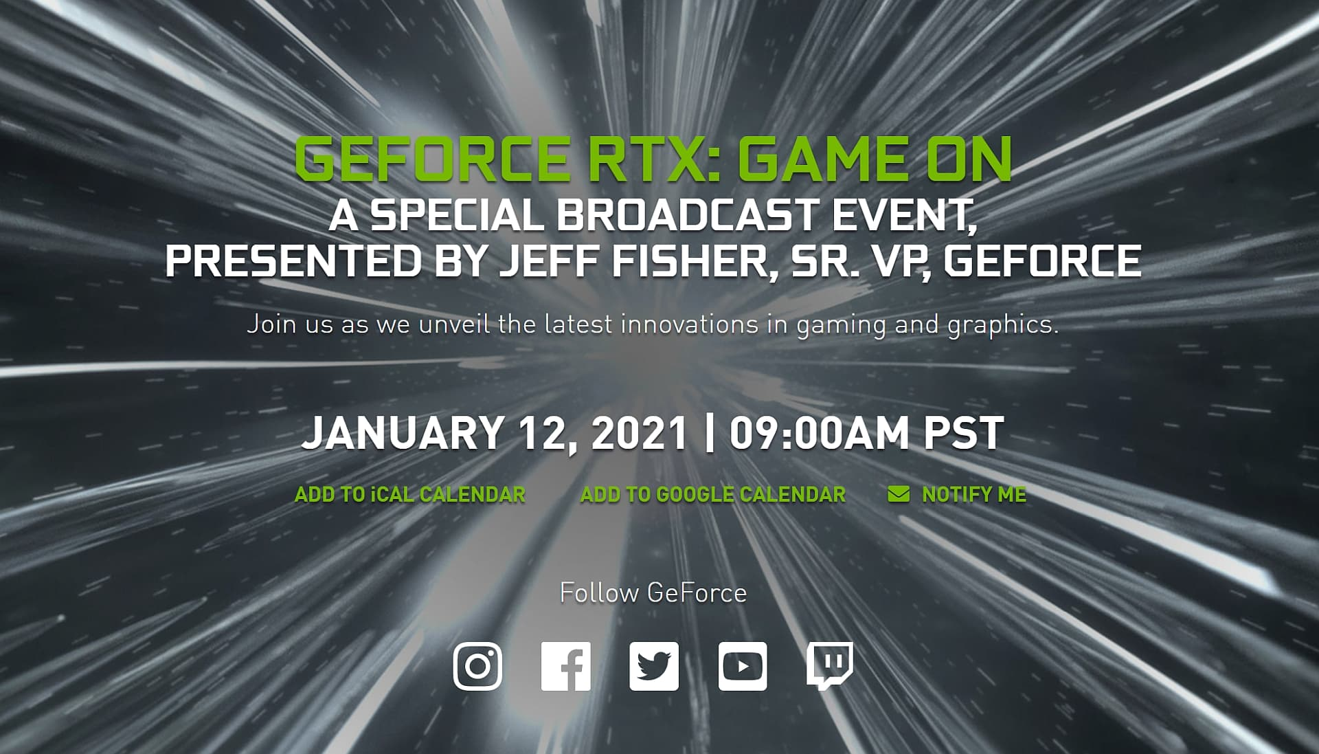 Nvidia invites to events focusing on RTX