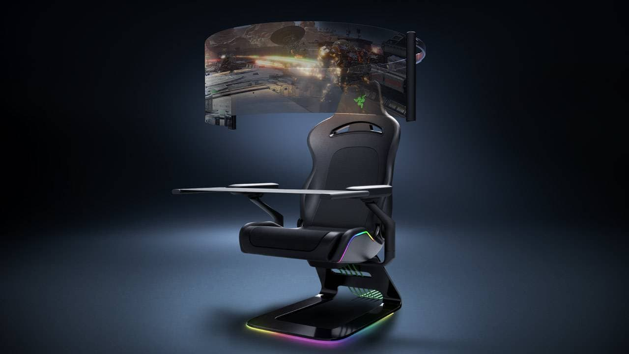 Razer shows what could be the gaming chair of the future