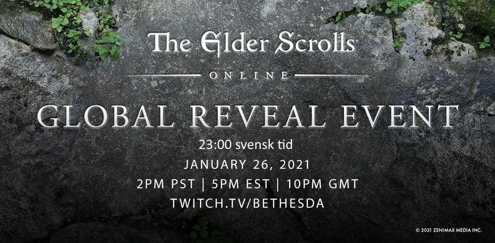 Do not miss The Elder Scrolls Online 2021 Global Reveal tonight