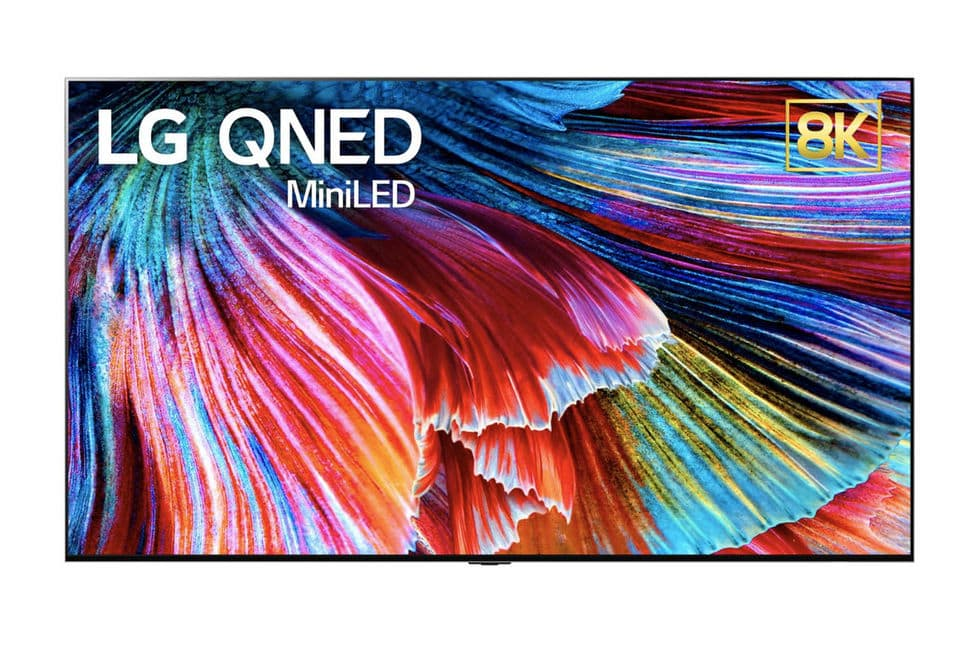 LG presents new panel technology QNED
