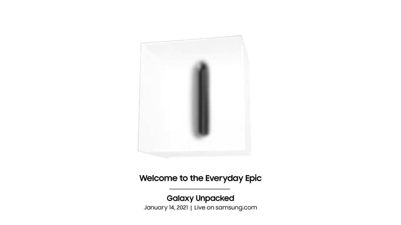 Samsung invites you to this year's first Unpacked event