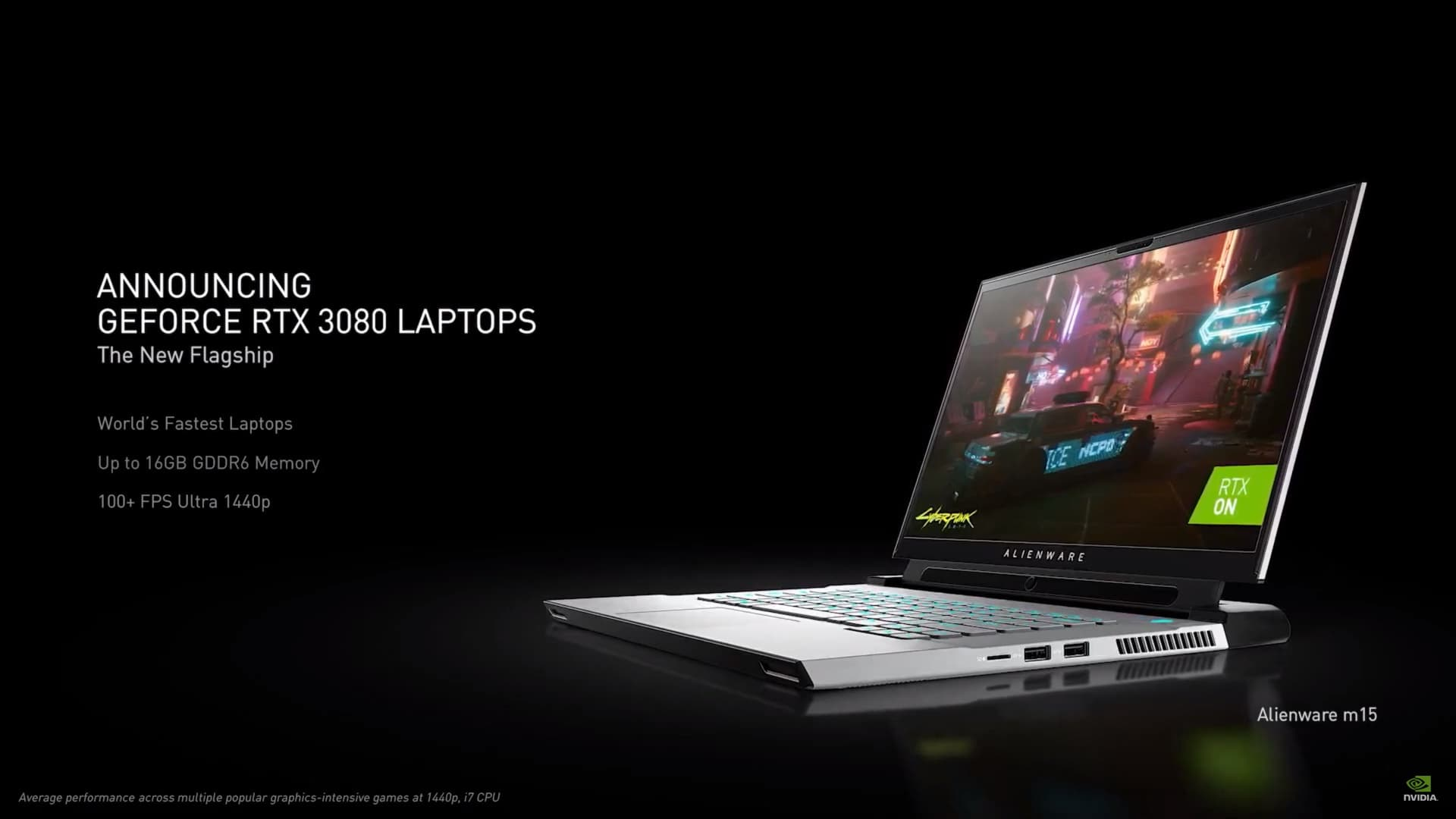Nvidia has introduced the RTX 3000 series for laptops