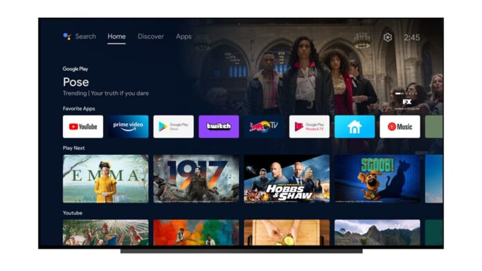 Android TV is updated with a new interface