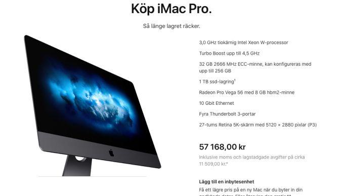 Confirmed: Apple shuts down Imac Pro