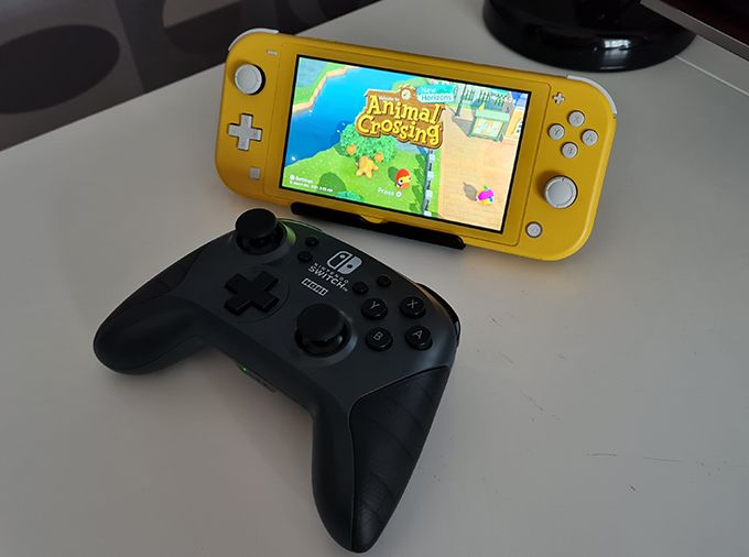 Hori Wireless Gamepad – good (and cheaper) alternative to the Switch control