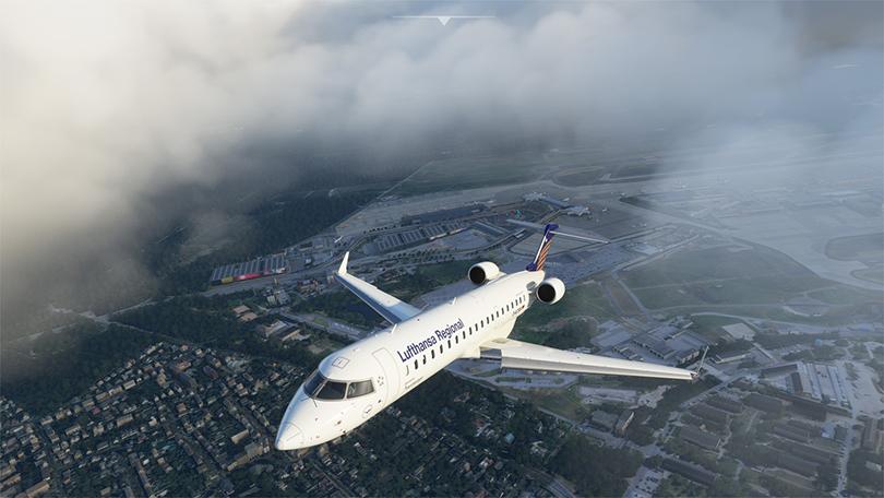 Aerosoft releases CRJ 550 and 700 to Flight Simulator