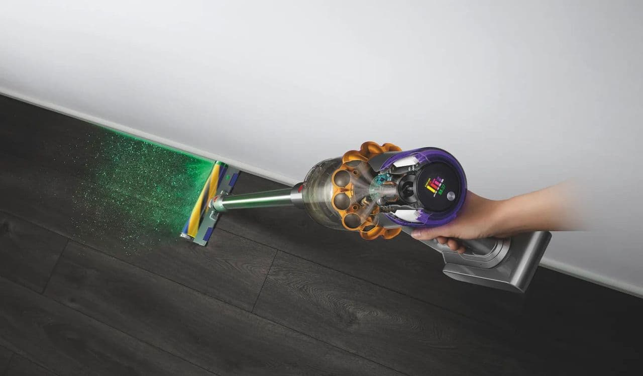 Dyson equips a vacuum cleaner with a laser viewfinder