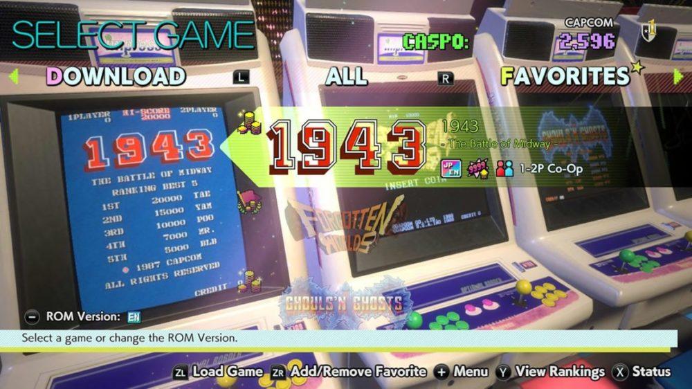 Review: Capcom Arcade Stadium – SENSES