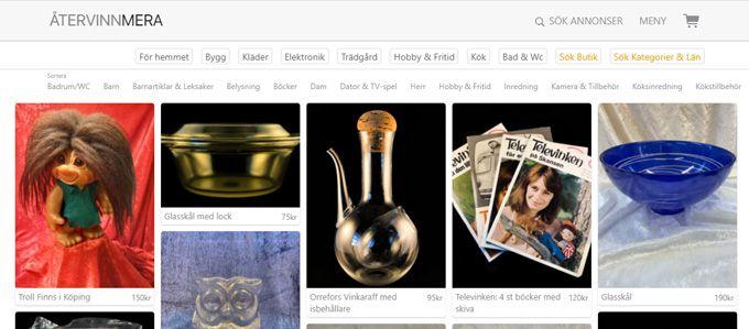 Online flea market – 5 services that challenge Blocket