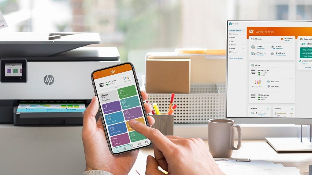 HP Plus launched – to simplify printer life for small businesses
