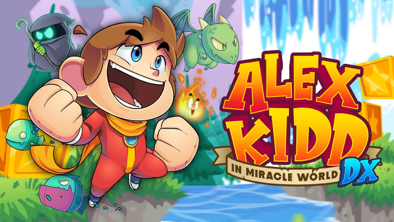 Alex Kidd in Miracle World DX is coming on June 25th