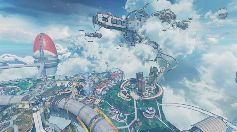 Olympus will change dramatically when Apex Legends: Legacy is released on May 4th