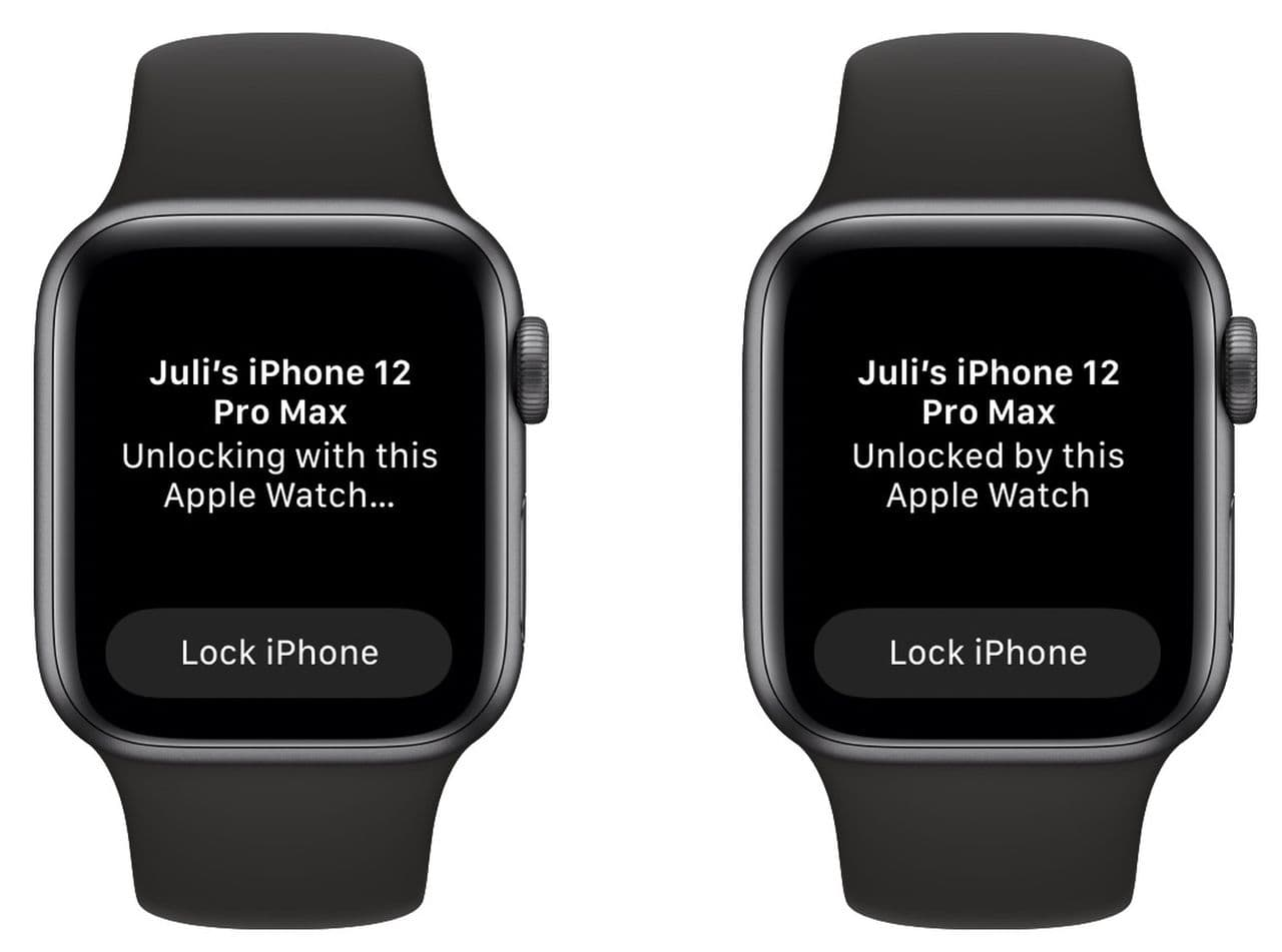 Unlock your iPhone using an Apple Watch