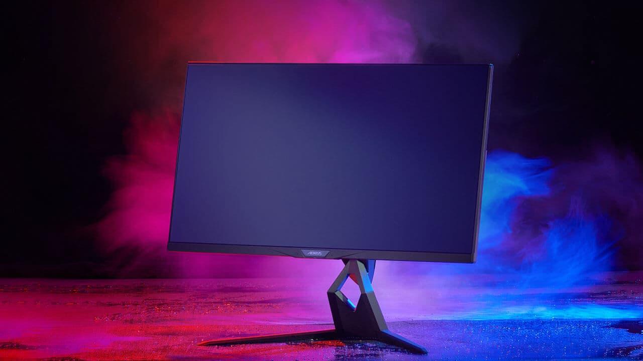 Gigabyte presents new screens focusing on gaming