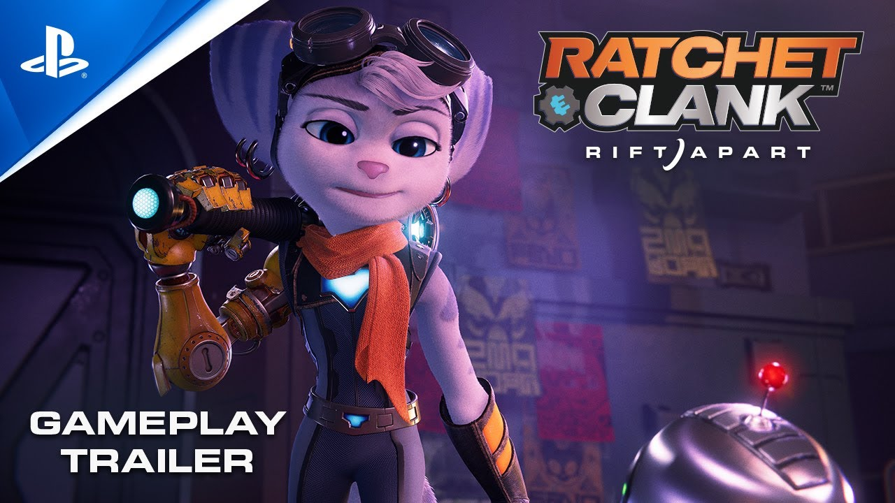 Some new gameplay for Ratchet & Clank: Rift Apart