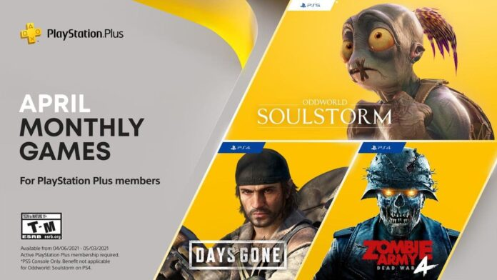 Playstation Plus games in April confirmed
